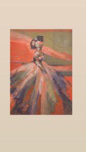 لقاء مع الفنانة التشكيلية هوزان الصافي
