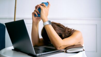 الاحتراق الوظيفي Occupational burnout